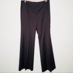 Chloe dark brown high rise wide leg pants
